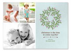 $15 Christmas photo card template!