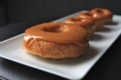 caramel apple donuts by shutterbean - need a better caramel sauce though