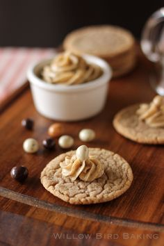 Cookie Butter Cookies (with Coffee Butter and Salted Caramel Butter)