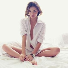 {fashion inspiration | ad campaign: Miranda Kerr for H&M} | Flickr: Intercambio de fotos