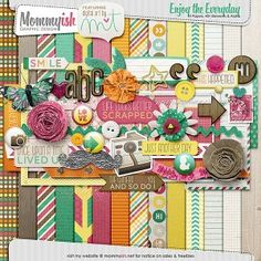 Enjoy the everyday free digital scrapbooking kit  from Mommyish