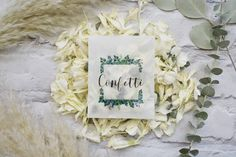 Biodegradable Confetti, Biodegradable Products, Uk Bride, Confetti Cones, Eucalyptus, Wedding Confetti, Event Styling, Frame, Our Wedding