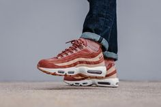 84af920b9a678 NIKE AIR MAX 95 LX W - DUSTY PEACH   BIO BEIGE AA1103-201 TRAINERS IN ALL  SIZES