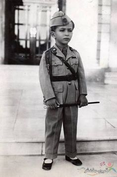 Faisal 2st,king of iraq,when he was kid,1945