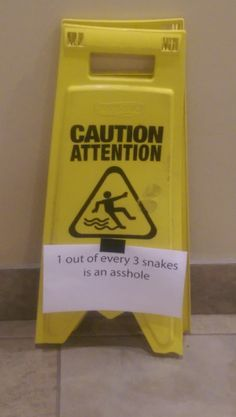 1 out of every 3 snakes...