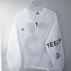 yeezus x adidas windbreaker new | free brandy stickers included Adidas Jackets & Coats