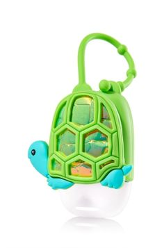 Turtle - PocketBac Holder - Bath & Body Works - Win the race against germs with a cute turtle! This convenient holder attaches to your backpack, purse & more so you can always keep your favorite PocketBac close at hand.
