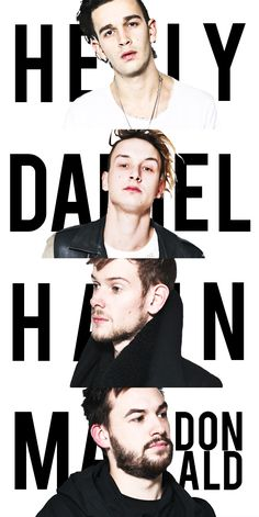 the 1975 // healy // daniel // hann // macdonald