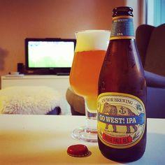Anchor Go West! IPA und Fußball #craftbeer #kiel #anchor #anchorbrewing #sanfrancisco #ipa #indiapaleale #beerstagram #instabeer #beerporn #beerlove #beer #cheers #soccer #fussball #euro2016