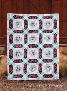 Cotton Cuts — Mademoiselle by Hello Melly Designs Pinwheel Quilt Pattern, Quilt Patterns, Bird Design, Rose Design, Charm Quilt, Brown Bird, Cute Pillows, Extra Fabric, Pinwheels