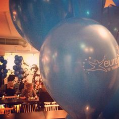 Balloons are an essential part of a proper #birthday party! Here is an example from #Finland. Happy birthday #Europass! #Europass10Years