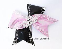 Cheer bow Princess cheer bow tiara cheer bow cheer bow with Cheerleading Bows, Cheer Bows, Bow Hunter, Ribbon Sculpture, Crown Hairstyles, Diy Hair Accessories, Big Bows, Tiaras And Crowns, My Etsy Shop