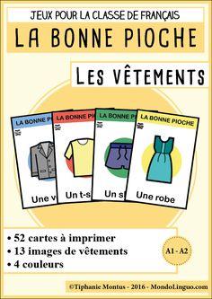 BP - Les vêtements | Mondolinguo - Français