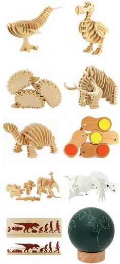 MUJI ANIMAL TOYS via NotCot.com