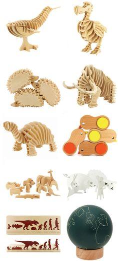 MUJI ANIMAL TOYS via NotCot.com