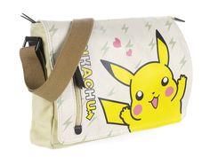 Pokemon Detective Pikachu Shoulder Bag Canvas Vintage Umhängetasche Cos Geschenk