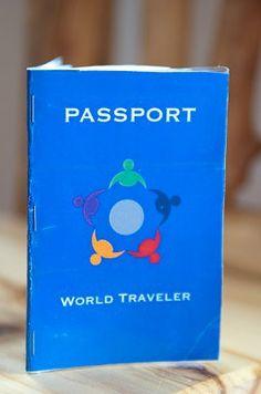 Pretend Passport, stamps for good behavior