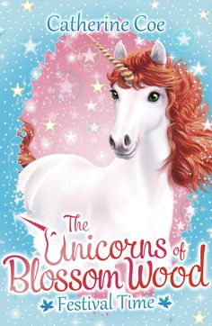 #andrewfarley #kidscornerillustration #illustration #digital #character #bookcover #unicorn #catherinecoe #theunicornsofblossomwood #festivaltime