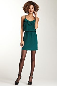 Cascade Silk Dress
