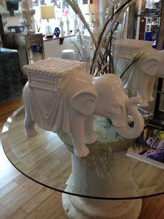 White Elephant Garden Seat. $265.