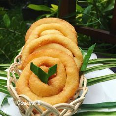 Indonesian Cookies Recipe, Indonesian Desserts, Asian Desserts, Indonesian Food, Indonesian Recipes, My Recipes, Cookie Recipes, Snack Recipes, Healthy Recipes
