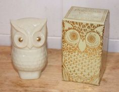 Vintage-AVON-Precious-OWL-Charisma-Cream-Sachet-1-5-oz-in-Box