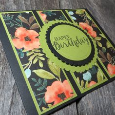 Here's all the steps to make a Stampin Up Whole Lot of Lovely three panel card. Simple design, simple steps and a fabulous card is waiting to be made - by YOU!