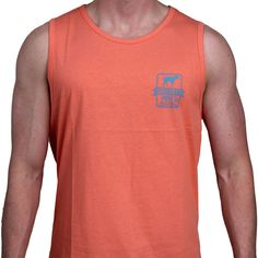 SPC Signature Logo Tank in Pink by Southern Point Co.