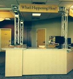 We've Exclusively Created Our Distinct Church Information Refreshment Center With A Versatile Design That
