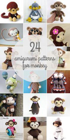 Amigurumi Patterns For Monkey
