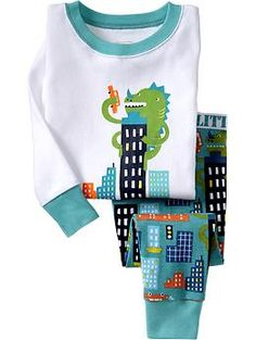 Movie Monster Graphic PJ Sets for Baby | Old Navy 18-24