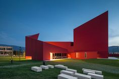Buildings that are Red - Inspiration - modlar.com
