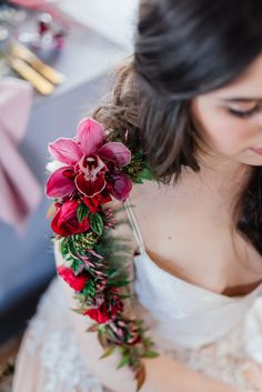 Eco-chic wedding inspiration – how to go green for your wedding – epanouir flower studio - real flower tattoo
