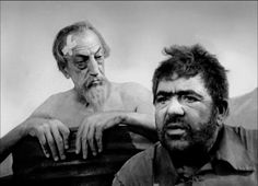 Francisco Reiguera (as Don Quijote) and Akim Tamiroff (as Sancho Panza) -in Don Quixote (Orson Welles, 1957-1972)