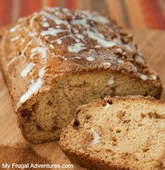 I have a really delicious and super easy recipe for you today. This Cinnamon Swirl bread my kids love (and so do I!)- it is a perfect afternoon snack or for the morning with fresh fruit. This reci. Zucchini Chocolate Chip Muffins, Zucchini Muffins, Chocolate Chips, Starbucks Banana Bread, Cinnamon Swirl Bread, Cinnamon Apples, Easy Banana Bread, Dessert Bread, Banana Bread Recipes
