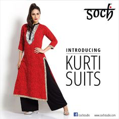 #Soch Stylish kurti suits online at great prices shop now #RedDotSale #SochStyle