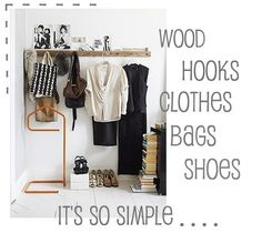 This might be a better option for me than waiting to have enough money to buy a chest of drawers. I'm desperate to put my clothes away so I can think (clutter clutters my mind)! This'll be a good weekend project.