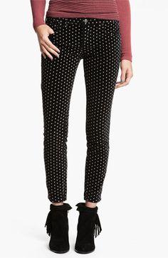 Polka Dot Skinny Pants