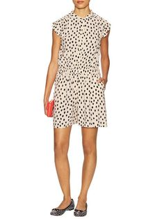 Leopard Dot Crepe Romper by kate spade new york at Gilt