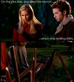 I've never seen Buffy the vampire slayer  but I know TUNS about it. This is just too funny to pass up pinning...