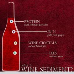 The Nature is natural. #wine #sediments