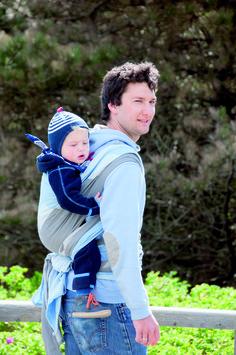 Baby Wrap Sling Paul #didymos #babywearing #babywearingdad #dads