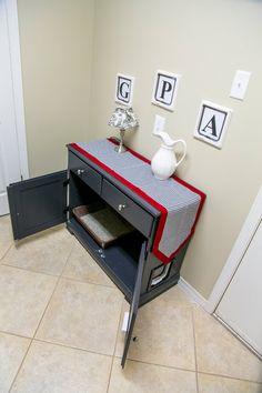 Dresser with Hidden Litter Box