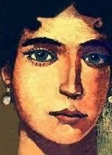 Marozia (891-955) Hermosa, inteligente y astuta, Marozia fue una de las noblesromanas más poderosas de su tiempo. Su condición de mujer no impidió que Marozia moviera los hilos del poder en unos años conocidos como los años oscuros de la Edad Media. Marozia nació el año 891 en Roma, donde vivían sus padres, los condes de Túsculo, Teofilato y Teodora.