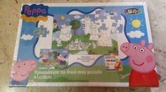 PEPPA PIG puzzle 24 pz  da colorare