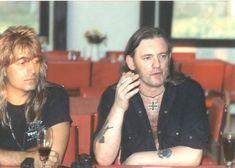 Mikkey Dee & Lemmy Kilmister. MOTORHEAD
