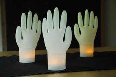 Inflated Glove Lights