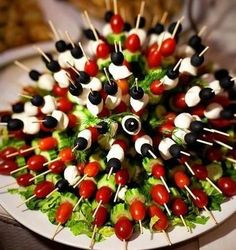 Vegetable Appetizer Kabob