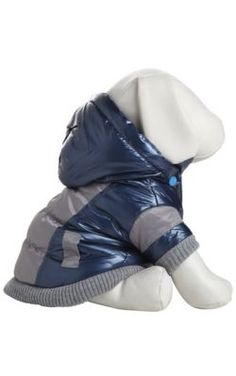 Pet Life Blue Vintage Aspen Dog Ski Coat XS