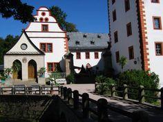Schloss Kochberg van de familie Von Stein met het Liebhabertheater
